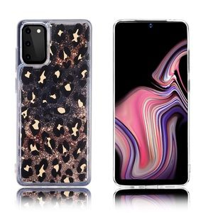 🆕 Leopard Glitter Case for Galaxy Note 10